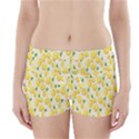 Pattern Template Lemons Yellow Boyleg Bikini Wrap Bottoms View1
