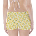Pattern Template Lemons Yellow Boyleg Bikini Wrap Bottoms View2