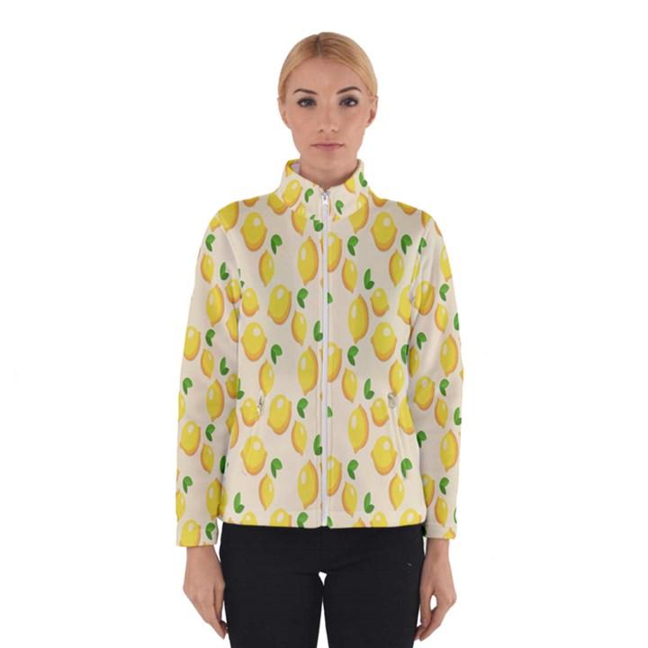 Pattern Template Lemons Yellow Winterwear