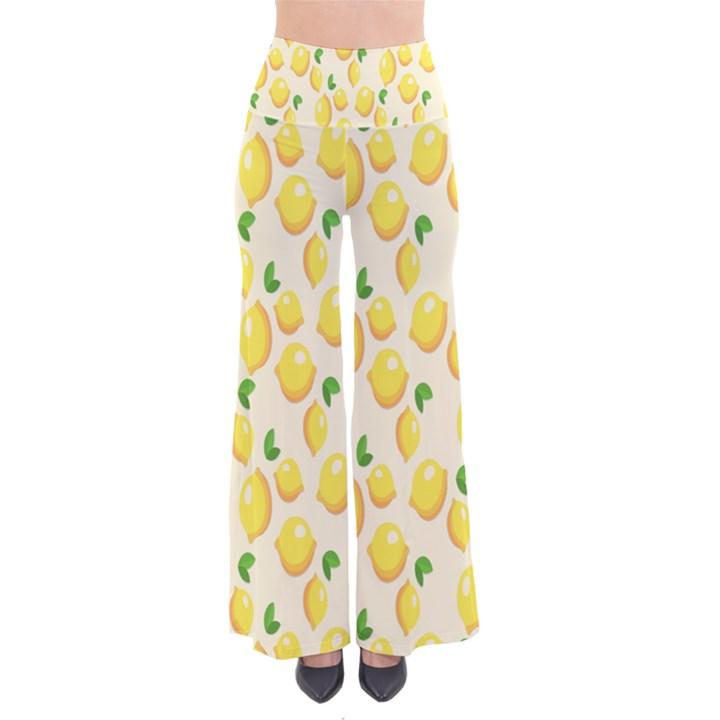 Pattern Template Lemons Yellow Pants