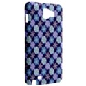 Snowflakes Pattern Samsung Galaxy Note 1 Hardshell Case View2