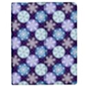 Snowflakes Pattern Apple iPad 3/4 Flip Case View1