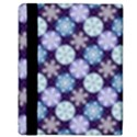 Snowflakes Pattern Apple iPad 3/4 Flip Case View3