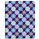 Snowflakes Pattern Apple iPad Mini Flip Case View1