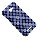 Snowflakes Pattern HTC Butterfly X920E Hardshell Case View5