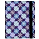 Snowflakes Pattern Samsung Galaxy Tab 8.9  P7300 Flip Case View2