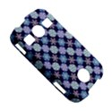 Snowflakes Pattern Samsung Galaxy S7710 Xcover 2 Hardshell Case View5