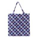 Snowflakes Pattern Grocery Tote Bag View1