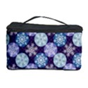 Snowflakes Pattern Cosmetic Storage Case View1