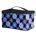 Snowflakes Pattern Cosmetic Storage Case View3