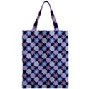 Snowflakes Pattern Zipper Classic Tote Bag View1