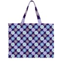 Snowflakes Pattern Large Tote Bag View2