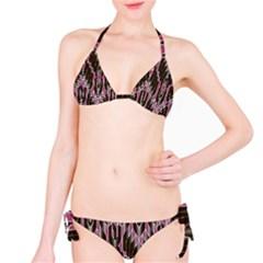 Pearly Pattern  Bikini Set