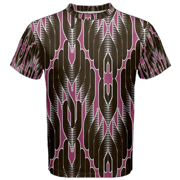 Pearly Pattern  Men s Cotton Tee