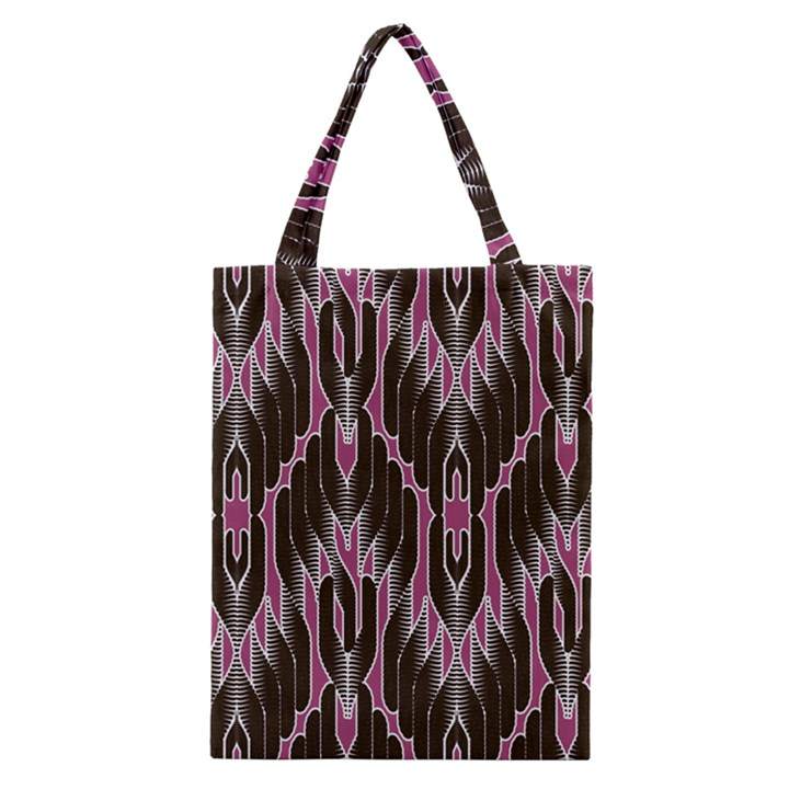 Pearly Pattern  Classic Tote Bag