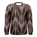 Pearly Pattern  Men s Long Sleeve Tee View1