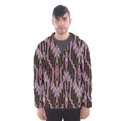 Pearly Pattern  Hooded Wind Breaker (Men)
