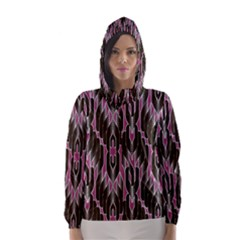 Pearly Pattern  Hooded Wind Breaker (Women)