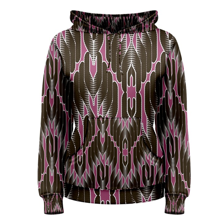Pearly Pattern  Women s Pullover Hoodie