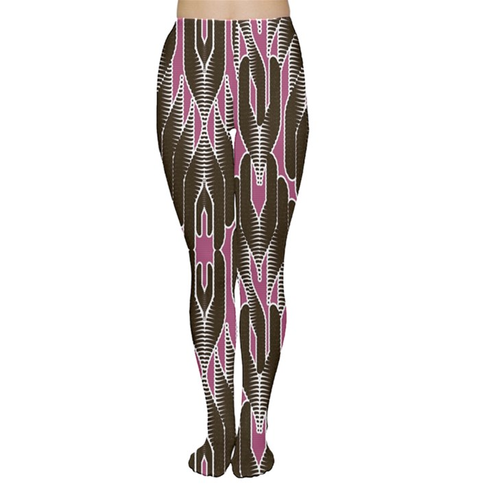 Pearly Pattern  Women s Tights