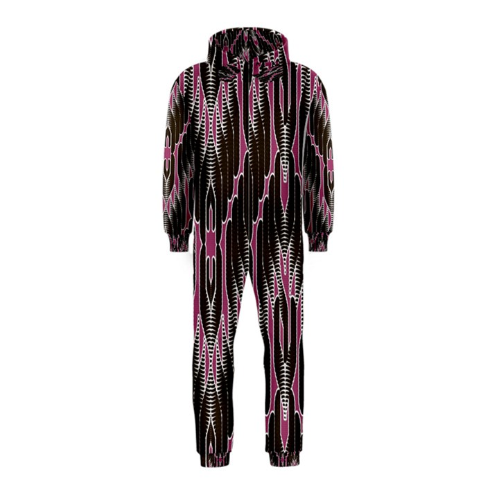 Pearly Pattern  Hooded Jumpsuit (Kids)