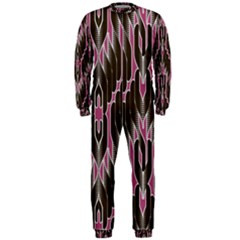 Pearly Pattern  OnePiece Jumpsuit (Men)