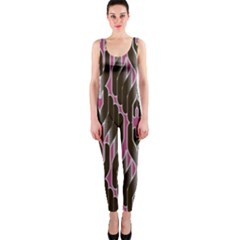 Pearly Pattern  OnePiece Catsuit