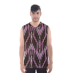Pearly Pattern  Men s Basketball Tank Top