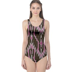 Pearly Pattern  One Piece Swimsuit