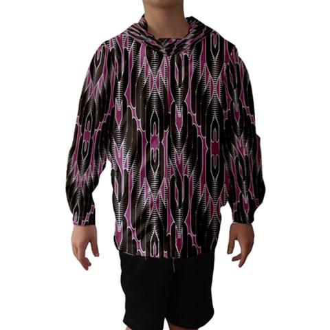 Pearly Pattern  Hooded Wind Breaker (Kids)