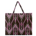 Pearly Pattern  Zipper Large Tote Bag View1