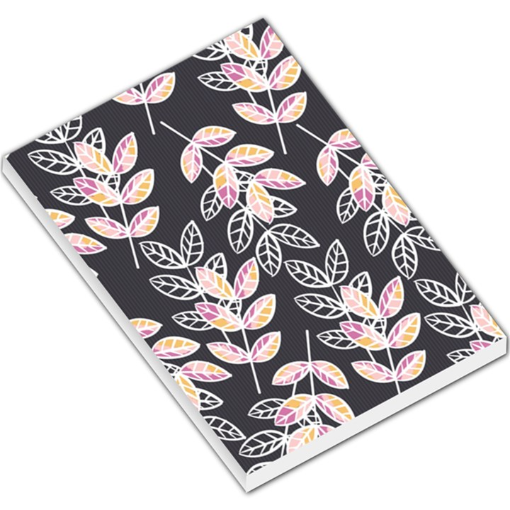 Winter Beautiful Foliage  Large Memo Pads