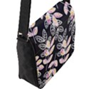 Winter Beautiful Foliage  Flap Messenger Bag (L)  View2