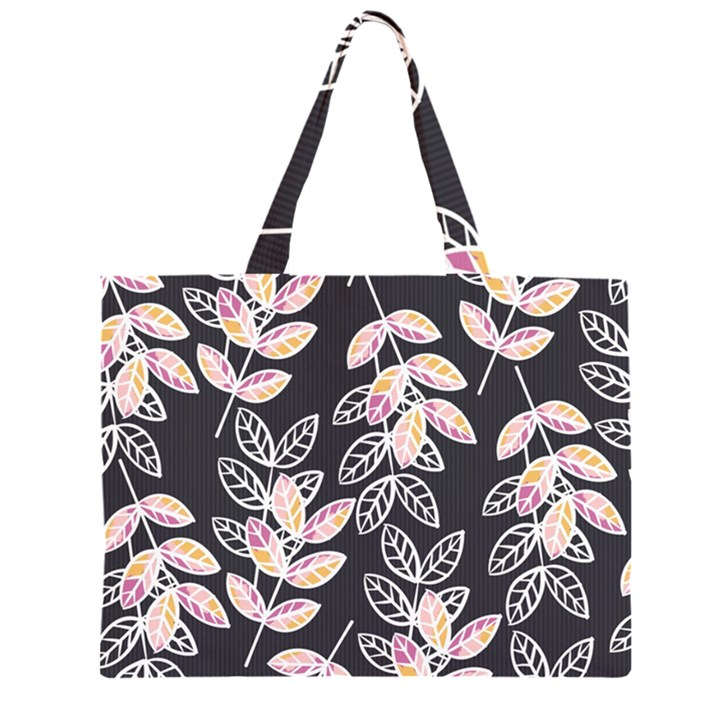 Winter Beautiful Foliage  Large Tote Bag