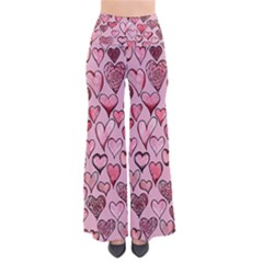 Artistic Valentine Hearts Pants