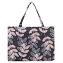 Winter Beautiful Foliage  Medium Zipper Tote Bag View1