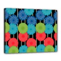 Vibrant Retro Pattern Canvas 20  x 16  View1