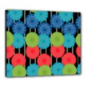 Vibrant Retro Pattern Canvas 24  x 20  View1