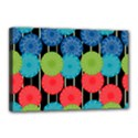 Vibrant Retro Pattern Canvas 18  x 12  View1