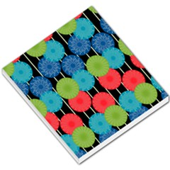 Vibrant Retro Pattern Small Memo Pads