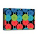Vibrant Retro Pattern Deluxe Canvas 18  x 12   View1
