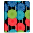 Vibrant Retro Pattern Apple iPad 2 Flip Case View1