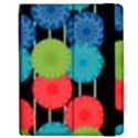 Vibrant Retro Pattern Apple iPad 2 Flip Case View2
