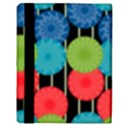 Vibrant Retro Pattern Apple iPad 2 Flip Case View3