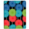 Vibrant Retro Pattern Apple iPad Mini Flip Case View1