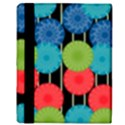 Vibrant Retro Pattern Apple iPad Mini Flip Case View3