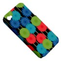 Vibrant Retro Pattern Apple iPhone 4/4S Hardshell Case (PC+Silicone) View5