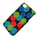Vibrant Retro Pattern Apple iPhone 4/4S Hardshell Case with Stand View4