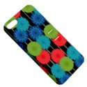 Vibrant Retro Pattern Apple iPhone 5 Hardshell Case with Stand View5