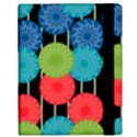 Vibrant Retro Pattern Samsung Galaxy Tab 10.1  P7500 Flip Case View3